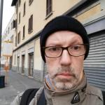 In attesa del bus - Milano 17 febbraio 2015